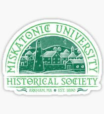 Miskatonic Historical Society Sticker