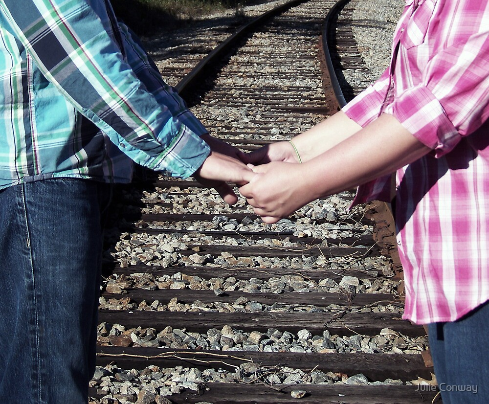 Country Love Story...On The Same Track by Julie Conway