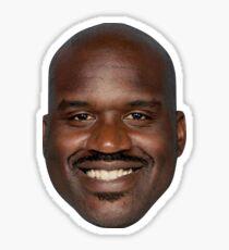 Shaq Head Sticker