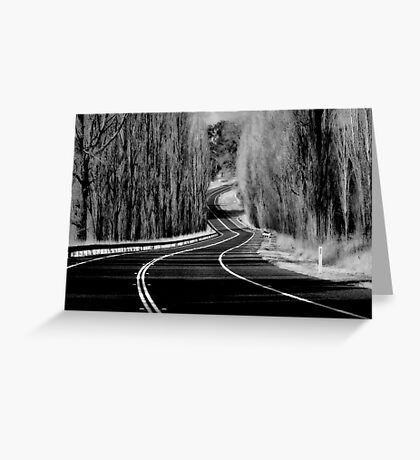 The Winding Road Greeting Card