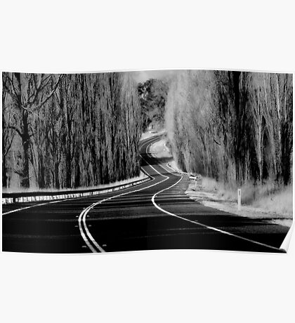 The Winding Road Poster