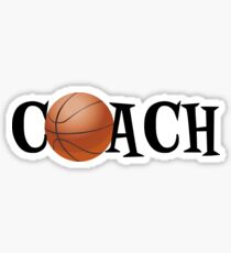 Basketball Coach Sticker