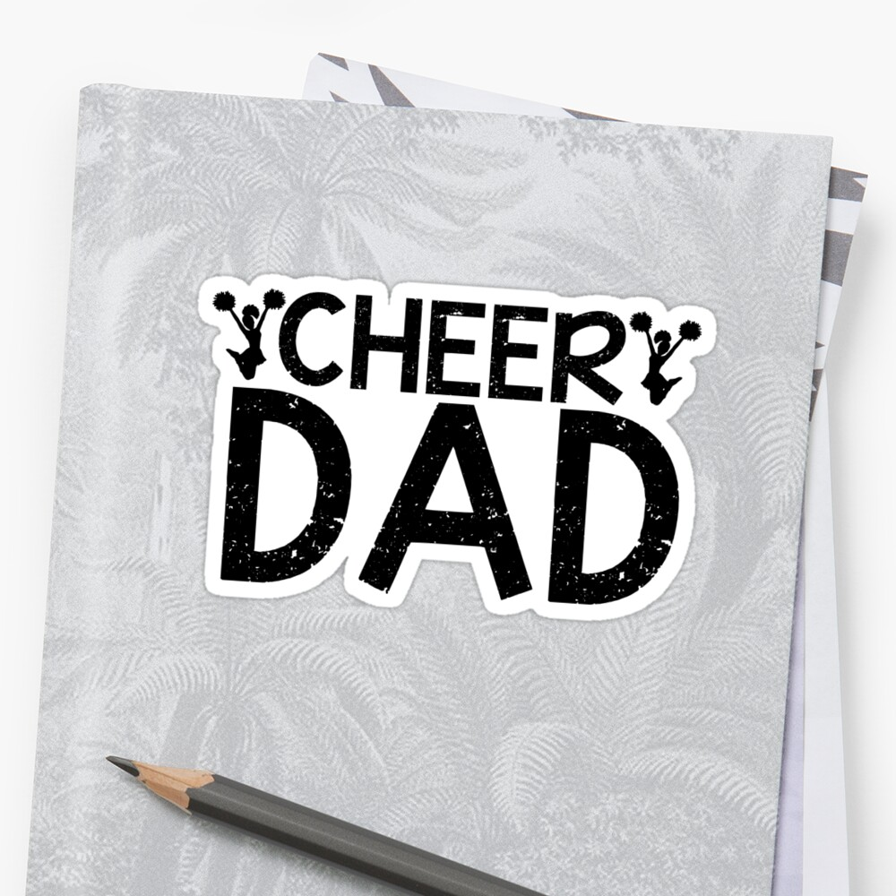 Cheer Dad by shakeoutfitters