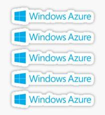 Windows Azure Sticker