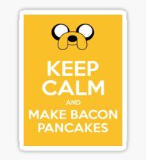 Make Bacon Pancakes Sticker Sticker