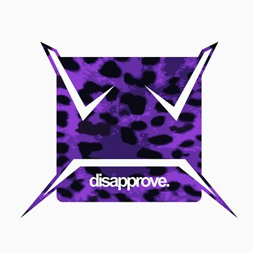 Purple Leopard by Disapprove