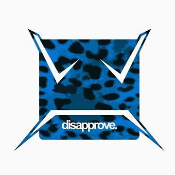 Blue Leopard by Disapprove
