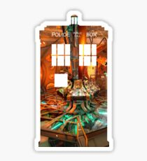 11th Doctors Tardis Sticker