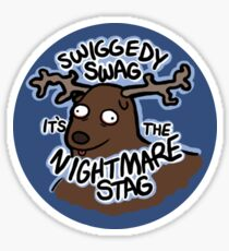 Nightmare Stag Sticker