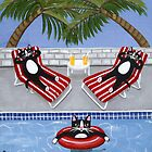 Cats on Summer Holiday by Ryan Conners