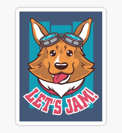 Let's Jam! Sticker