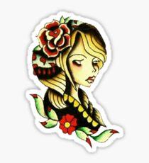 Gypsy & Flowers Sticker