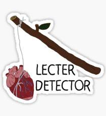 Lecter Detector Sticker
