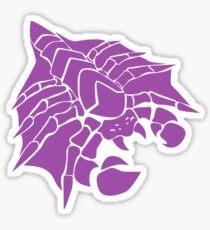 Happy Purple Drone Sticker