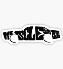 Muscle Car Club Sticker
