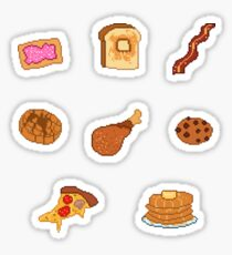 Pixel Junk Food Stickers 6 Sticker