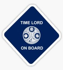 Time lord on board Car Sticker! Sticker