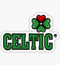 Love Celtic  Sticker