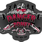 """Danger Zone!"" - Sticker by ianleino"