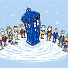 Doctor Whoville - Sticker by ianleino