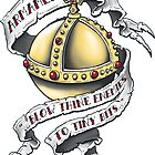 The Holy Hand Grenade - Sticker by ianleino