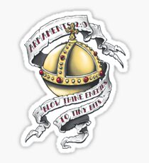 The Holy Hand Grenade - Sticker Sticker