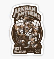 Bat's All, Folks - Sticker Sticker