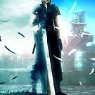 Final fantasy VII- Zack and Cloud by salodelyma
