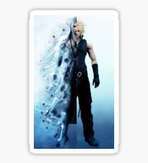 Final Fantasy VII - Sephiroth and Cloud Sticker