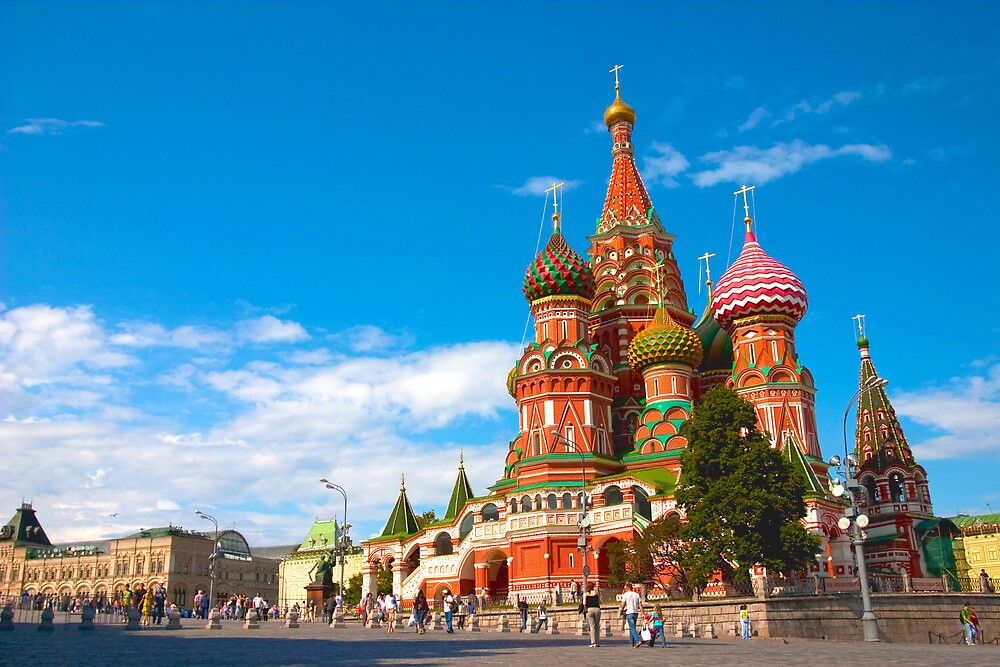 Saint Basil's Cathedral by Jeffrey So