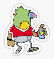 Parakeet Pete Sticker