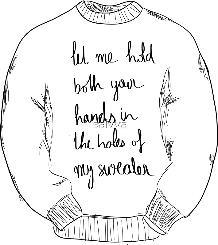 Lyric lyrics to sweater weather : sweater weather – Black