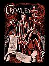 crowley sticker by Ryleh-Mason