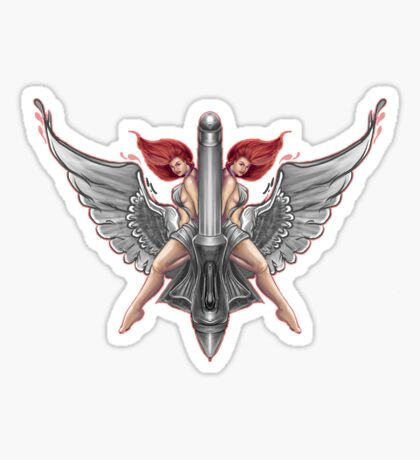 caduceus Sticker