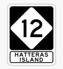 NC 12 - Hatteras Island Sticker