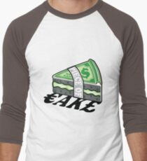 Piece of Cake Men's Baseball ¾ T-Shirt