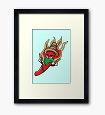 Mr. Spicy HOT Framed Print