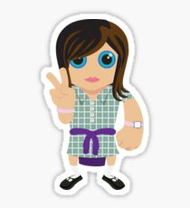 Ja'mie King #1 (Summer Heights High)  Sticker