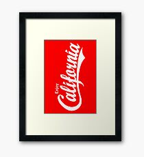 Enjoy California Framed Print
