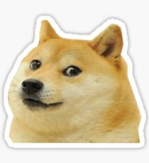 Doge Is Love, Doge is life Sticker