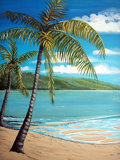 Palm Trees  by Linda Callaghan