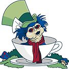 A Nice Cup of Tea - STICKER by Mandrie