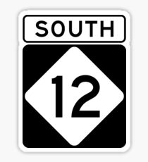 NC 12 - SOUTH Sticker
