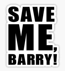 Save Me, Barry! Sticker