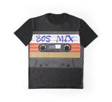 80s MIX - Music Cassete Tape Graphic T-Shirt