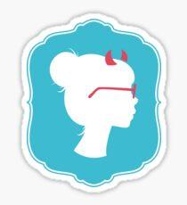 La Fille Méchante Sticker
