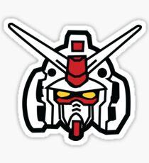 Gundam Head Sticker