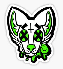 Dead Dog Lime Sticker