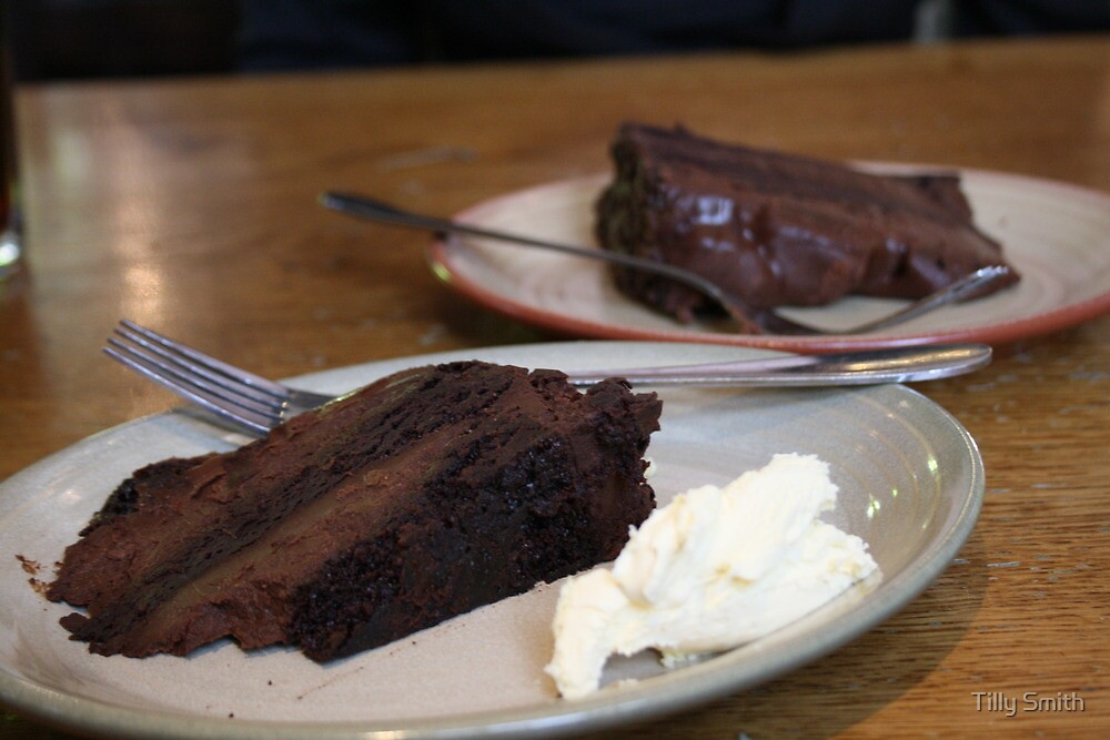 Chocolate Fudge Cake by tillia58