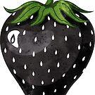 Black Strawberry by blacklilypie